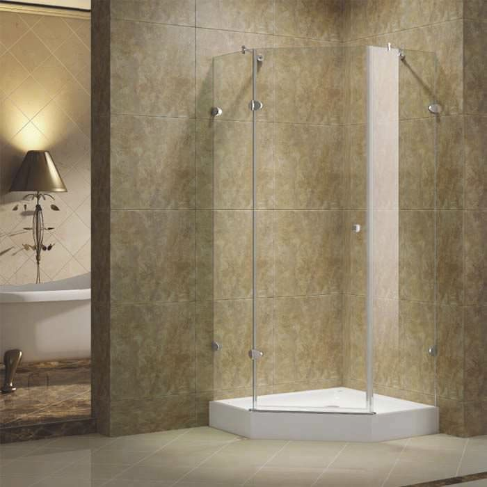 Swinging shower screen / corner / glass GRACES KG10