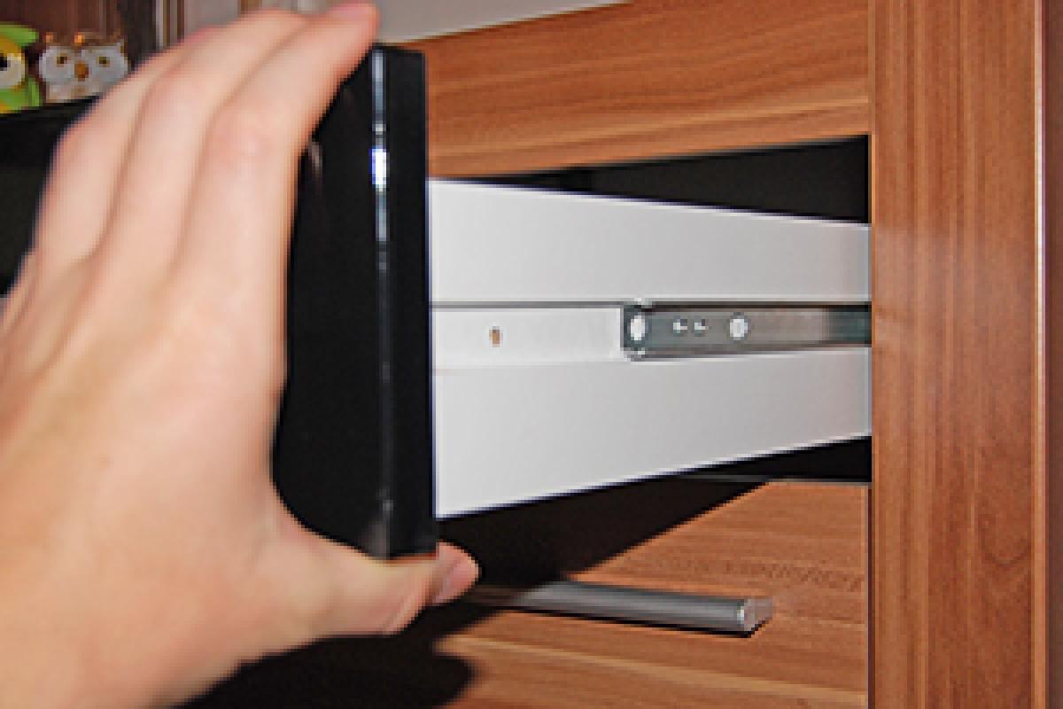 Scharniere Einstellen Wohnzimmerschranke Schubladenschienen Schubladen