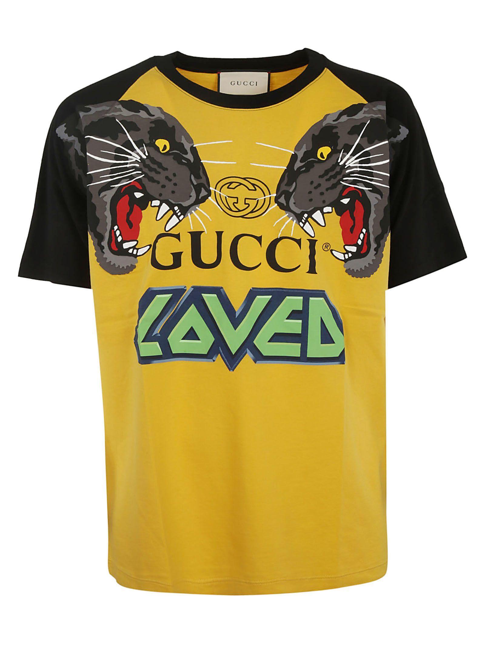 af56ff637 GUCCI GRAPHIC T-SHIRT. #gucci #cloth | Gucci in 2019 | Pinterest ...