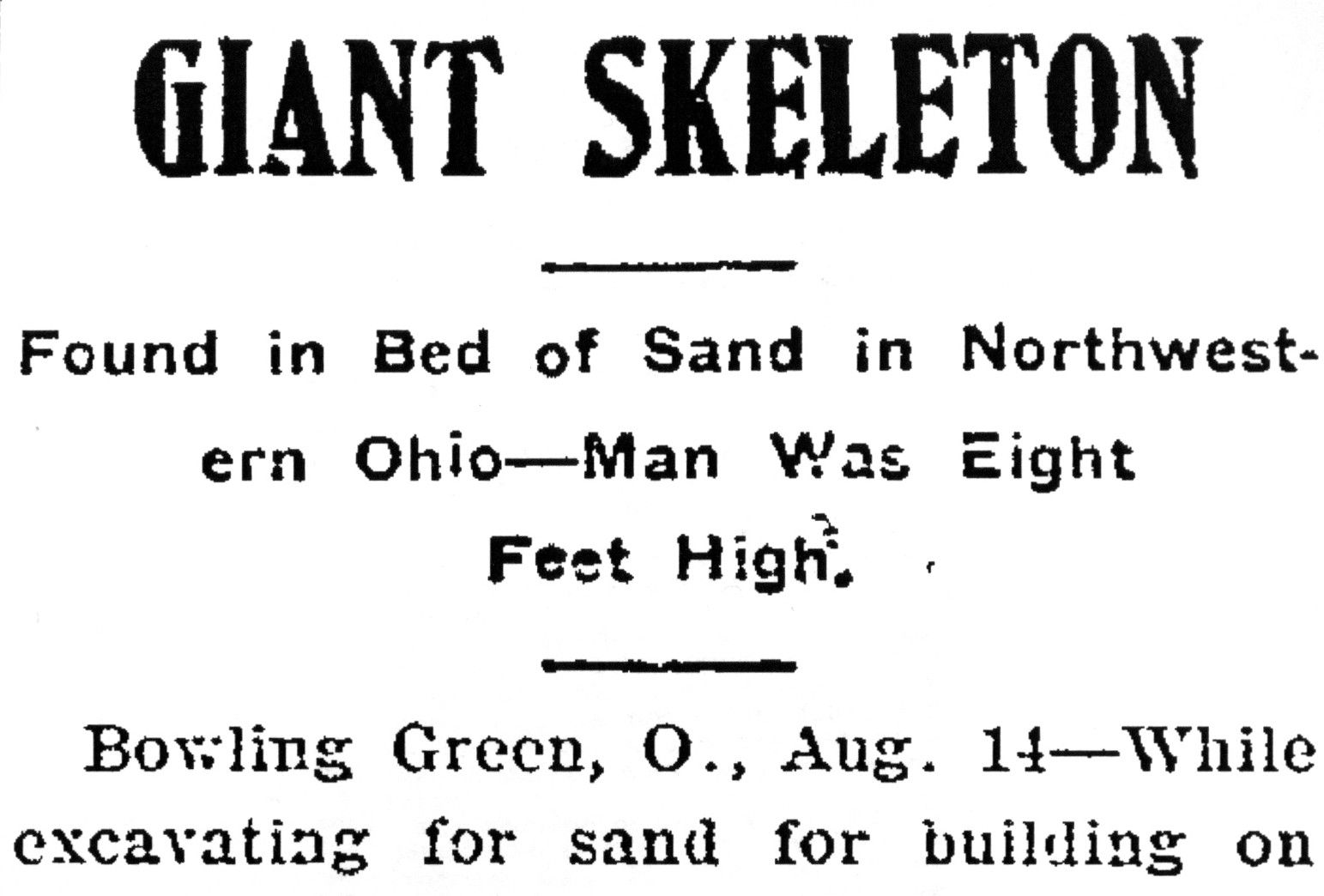 Giant Human Skeleton Uncovered In Ohio Jpg 1543 1044 Nephilim Giants Mystery Of History Giants