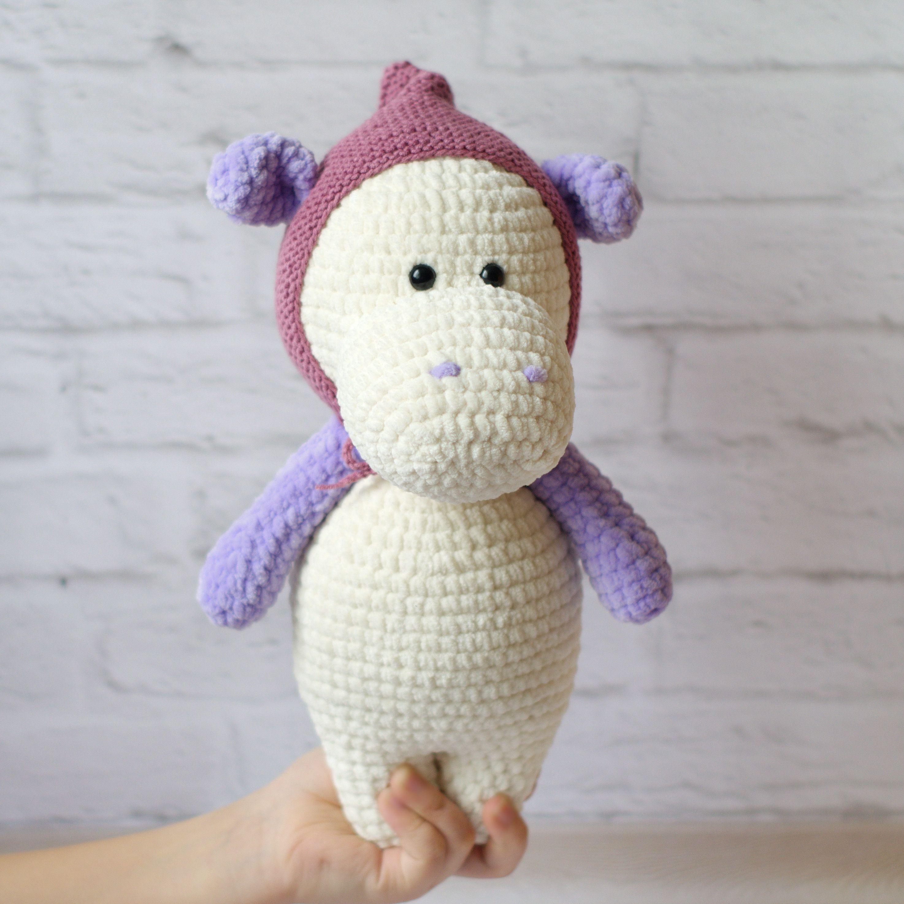 Hippo ,Crochet hippo toy ,Crocheted hippo ,Amigurumi Hippo ... | 2948x2948