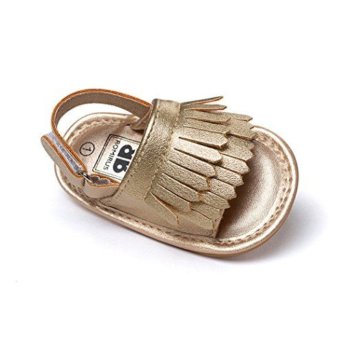 Anna-Kaci Summer Fringed Baby Shoes Soft Soled Shoes Sandals Toddler Shoes 0 -18M be4ec2927e5d