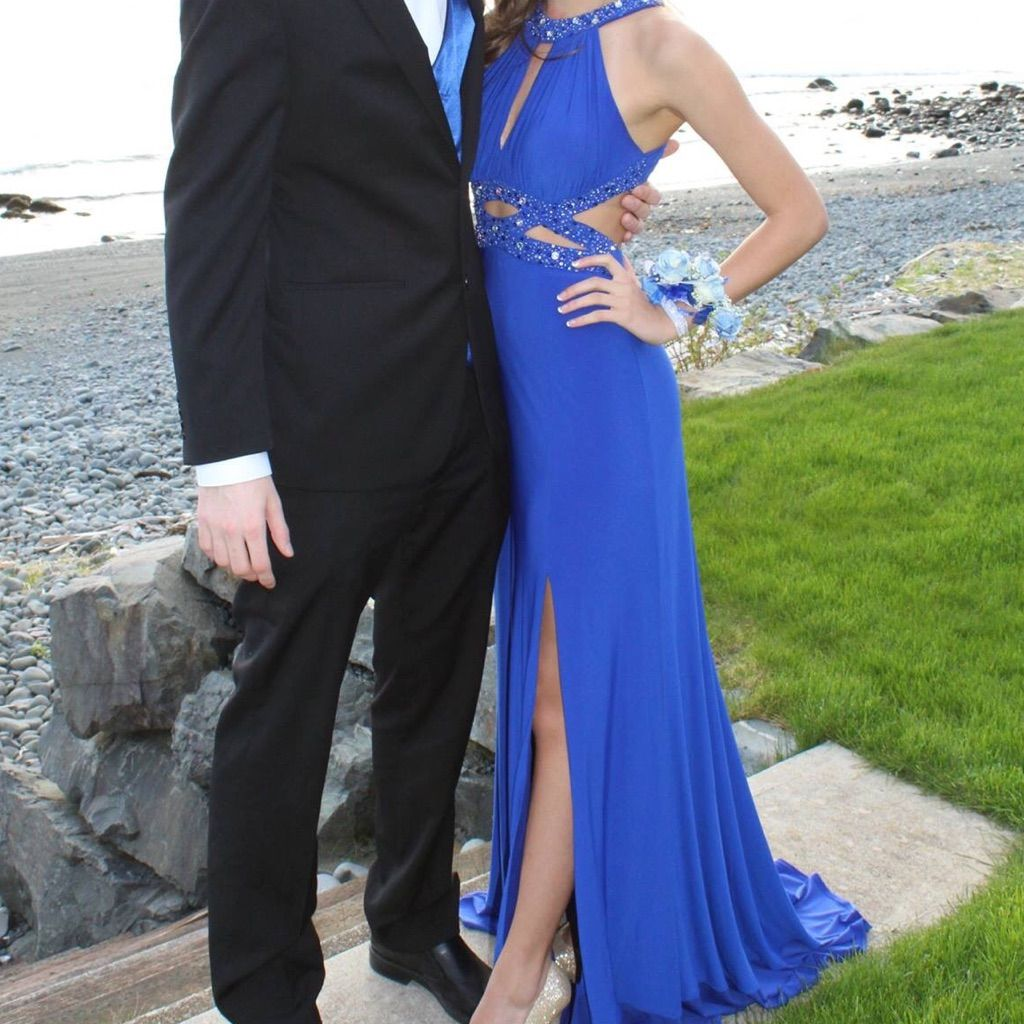 Blue prom dress products
