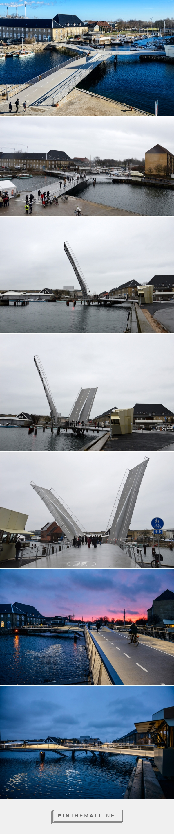 butterfly bridge in copenhagen by dietmar feichtinger architectes - created via http://pinthemall.net