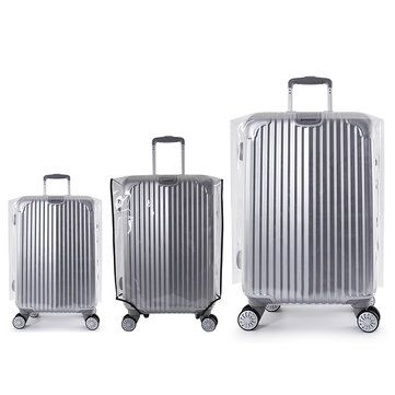 Waterproof Clear Travel Protective Luggage Suitcase Cover Protectors Stylish