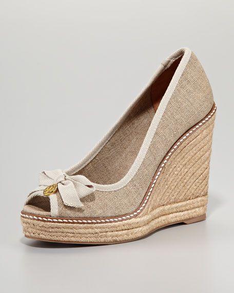 02d437db62f Jackie Peep-Toe Espadrille Wedge | fashion/home | Peep toe ...