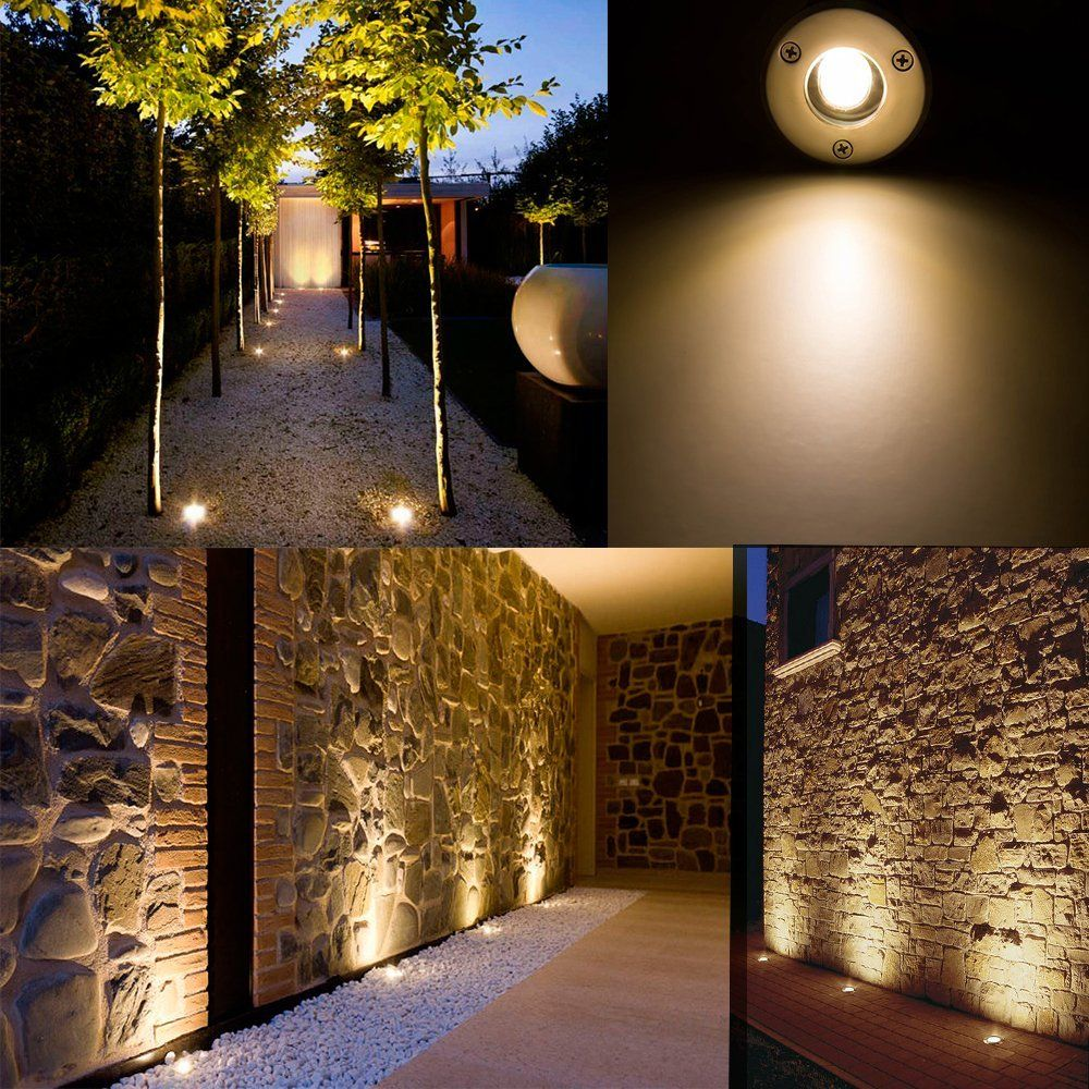 Landscape Lights Sunriver Pathway Lights 1w 12v 24v In Ground Well Lights Led Landscape Lighting Low Voltage Lights For Driveway Deck Garden Outdoor Lighting Led Landscape Lighting Led Lighting Diy Solar Led