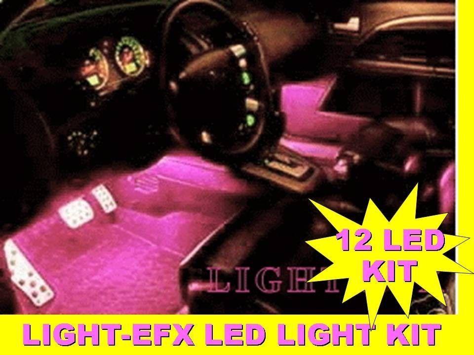 PINK INTERIOR LIGHTS KIT SCION XA XB XD TC