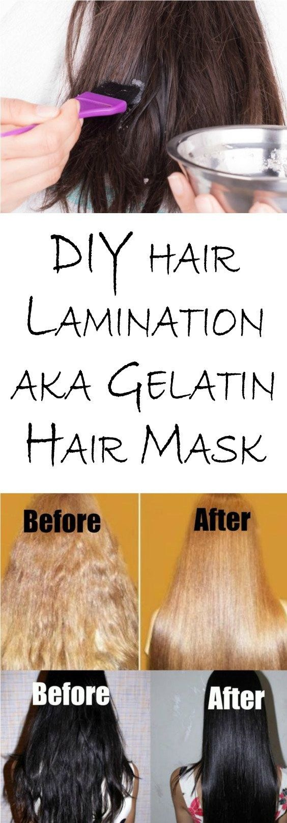 How to make lamination of hair at home better than in salon