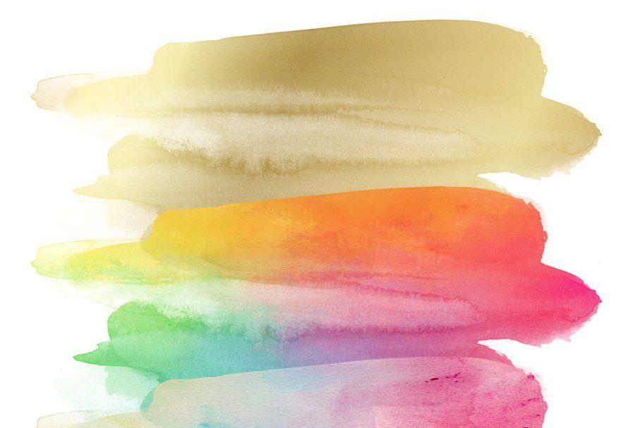 Paint Smudge Clipart Set Clip Art Smudging Digital Clip Art