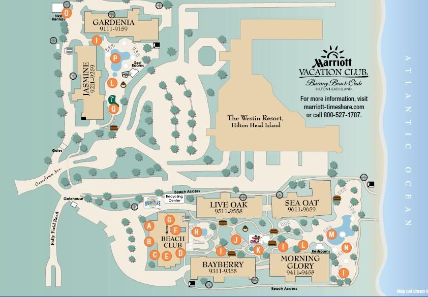 Marriott S Barony Beach Club Resort Map Photo Marriott S Barony