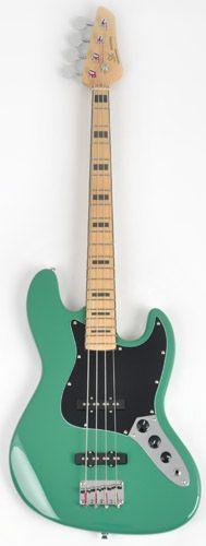 Sx Ursa 2 Mn Ash Vgn Vintage Green Bass Guitar Rondomusic Com Baixo Eletrico