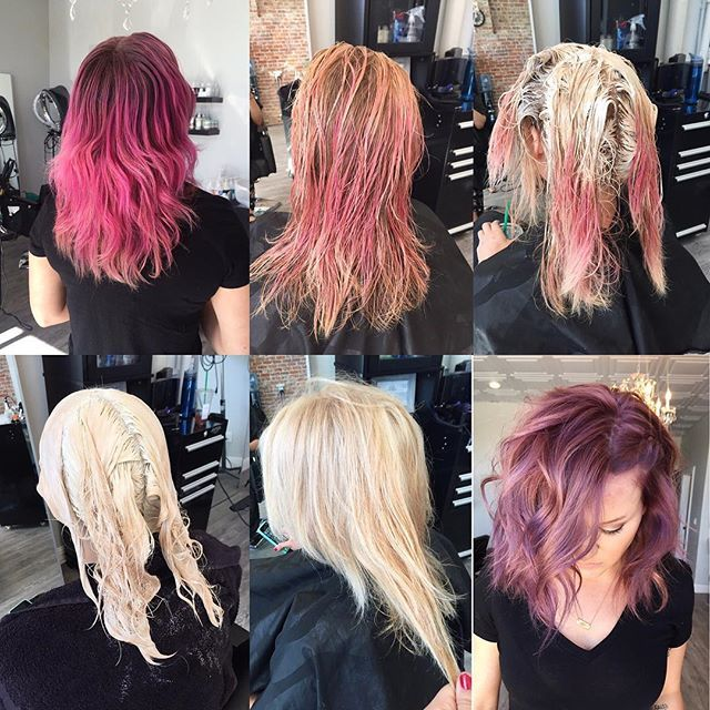 Here S The Play By Play 1 Color Remover With Malibu Pigment Remover 2 Bleach Mid Section Of Hair Staying Beauty Hair Color Pink Hair Dye Hair Color Remover