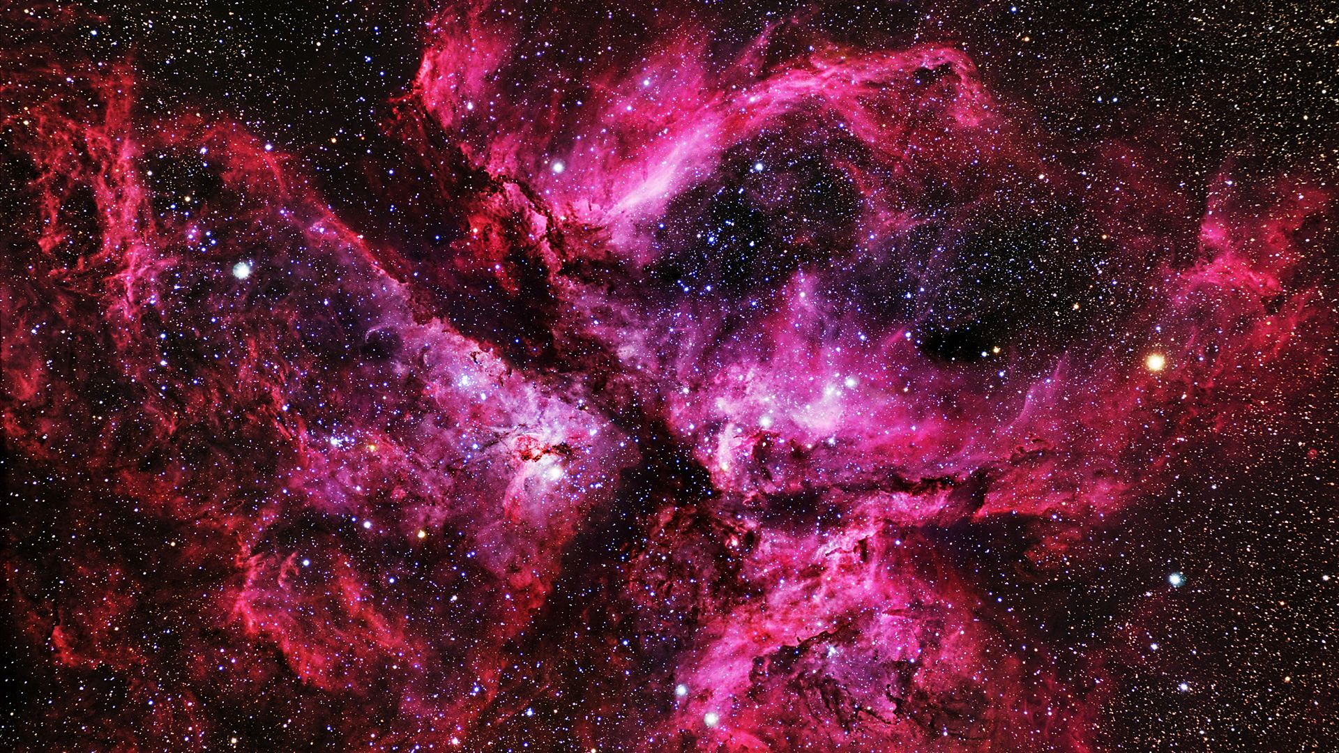 great carina nebula stars | etoile rose | pinterest | carina nebula