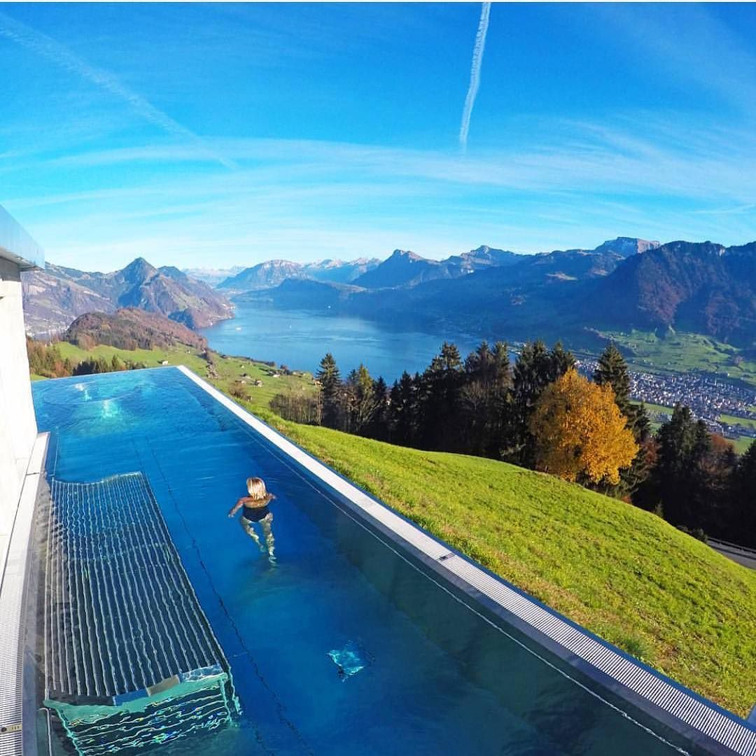 Hotel Villa Honegg avec hotel villa honegg - switzerland picture@lalarebelo_travelblog