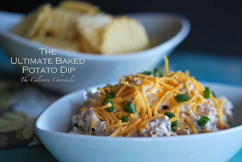 The Ultimate Baked Potato Dip by The Culinary Chronicles, via Flickr