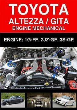Toyota Altezza Engine Workshop Service Manual Engineering Toyota Workshop