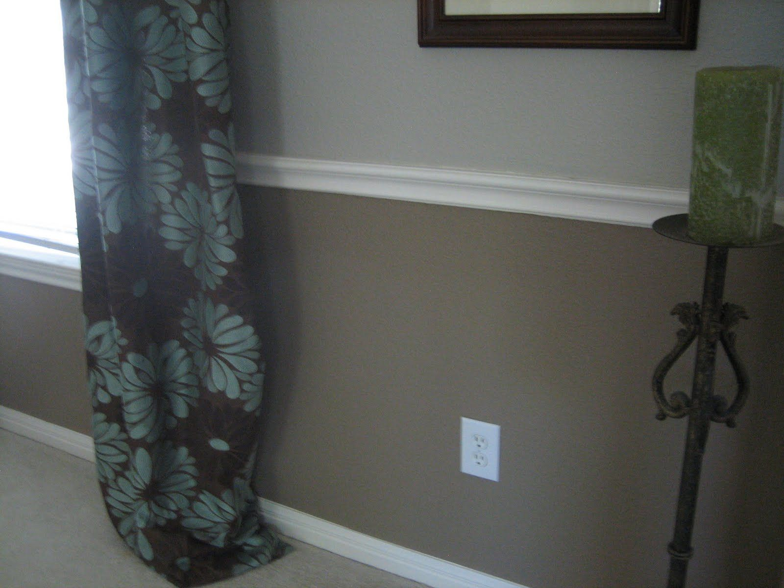 light walls dark wainscoting and white trim home decor installing wainscoting wainscoting. Black Bedroom Furniture Sets. Home Design Ideas