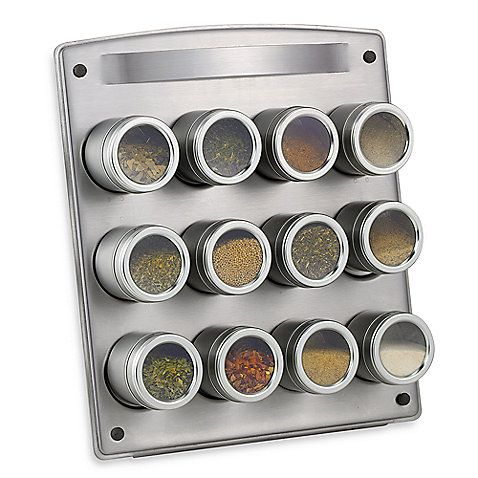 Magnetic 12 Jar E Rack With Easel Costco Also Has These They Re Great For Storing Es Or Jewelry