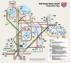 Download free map of the Walt Disney World Resort in Florida with ...