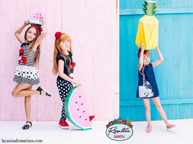 326c8bdb47 ROSALITA SEÑORITAS nueva tienda en Valladolid y colección PV 2016 ♥ Moda  Infantil   Blog de Moda Infantil