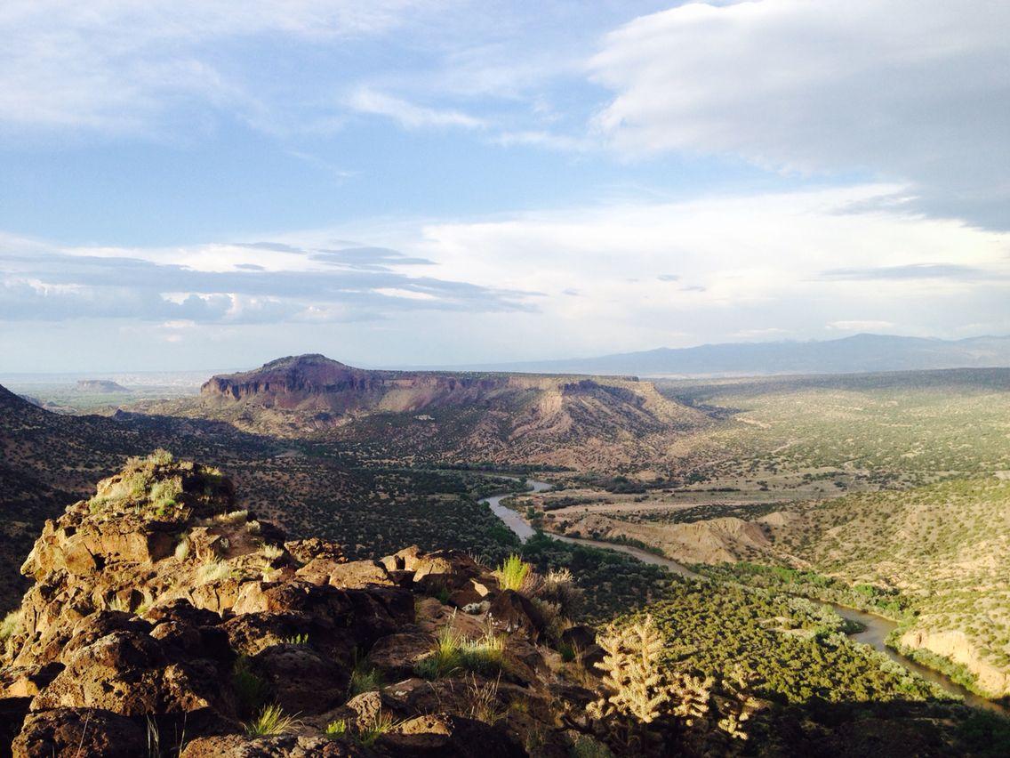 overlook, white rock, nm