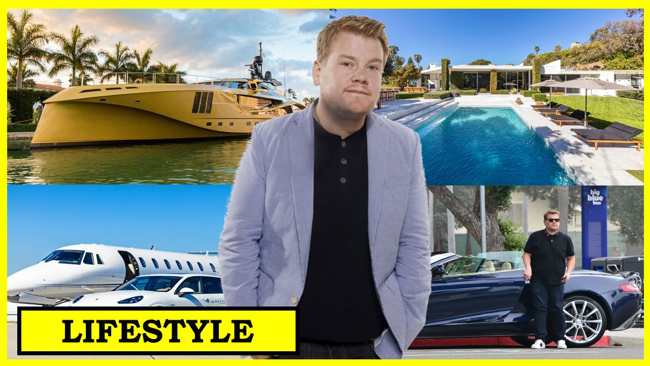 James Corden Biography Net Worth House Cars Family Dated