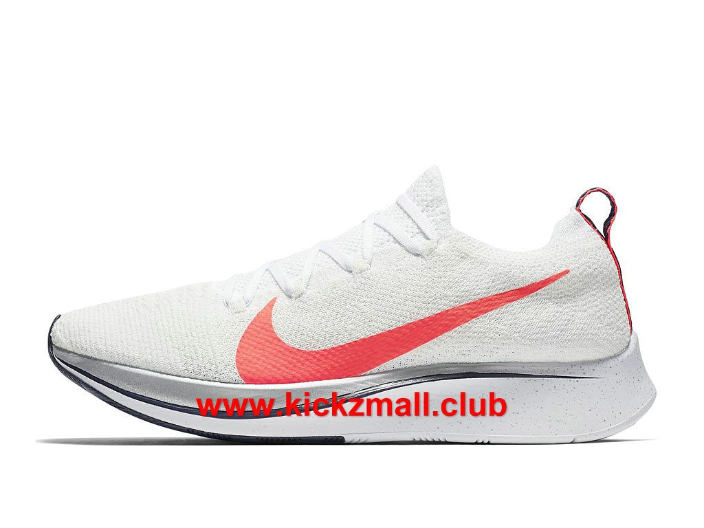 Chaussures Running Nike Zoom Fly Flyknit Homme Pas Cher Blanc/Rose ...