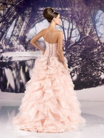 robe de mari e rose poudr neuve taille 38 mariage. Black Bedroom Furniture Sets. Home Design Ideas