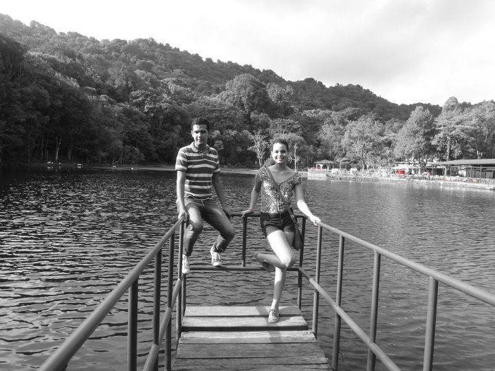 Lago de Selva Negra, Nicaragua. Ubicado en el departamento de Matagalpa, buscando la carretera hacia Jinotega