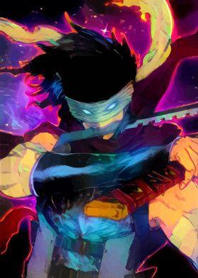 Neon Stain  | Displate thumbnail
