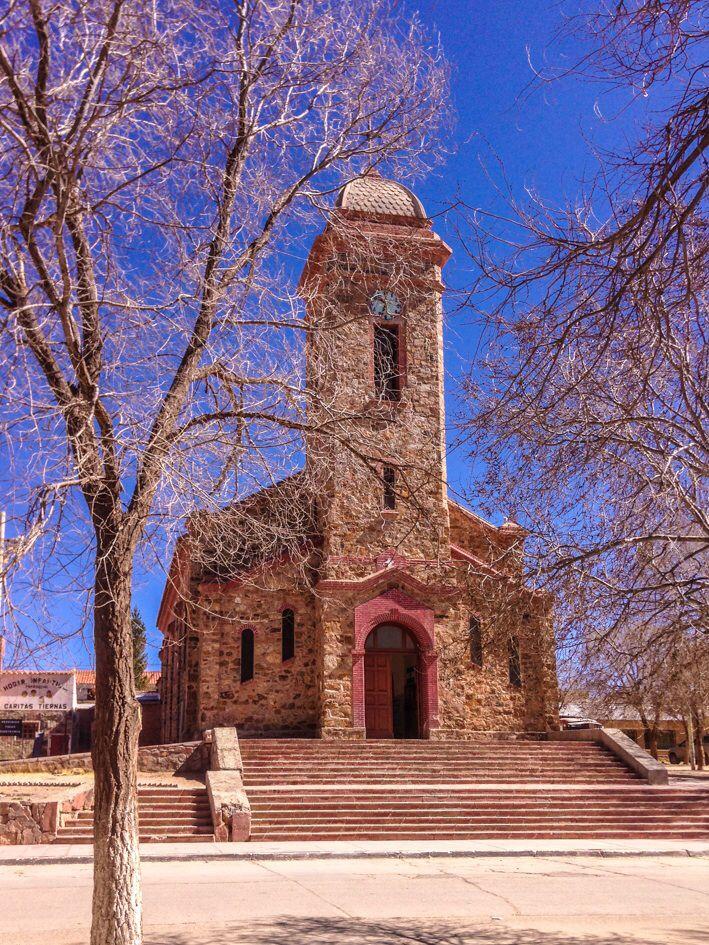 Iglesia de La Quiaca, Jujuy, Argentina.