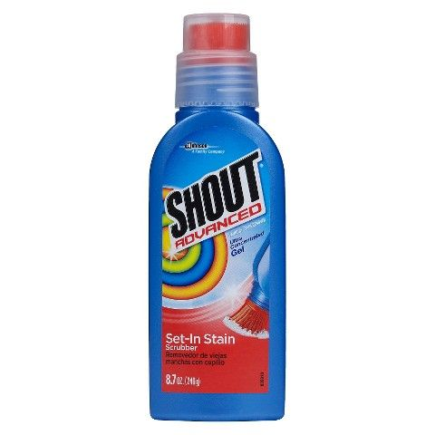 Shout Advanced Ultra Concentrated Gel Brush 8 7oz Laundry