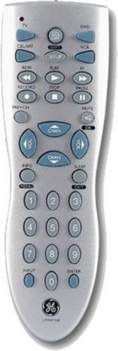GE 24914 4-Device Remote Control (Silver) by Jasco  $3 95  4