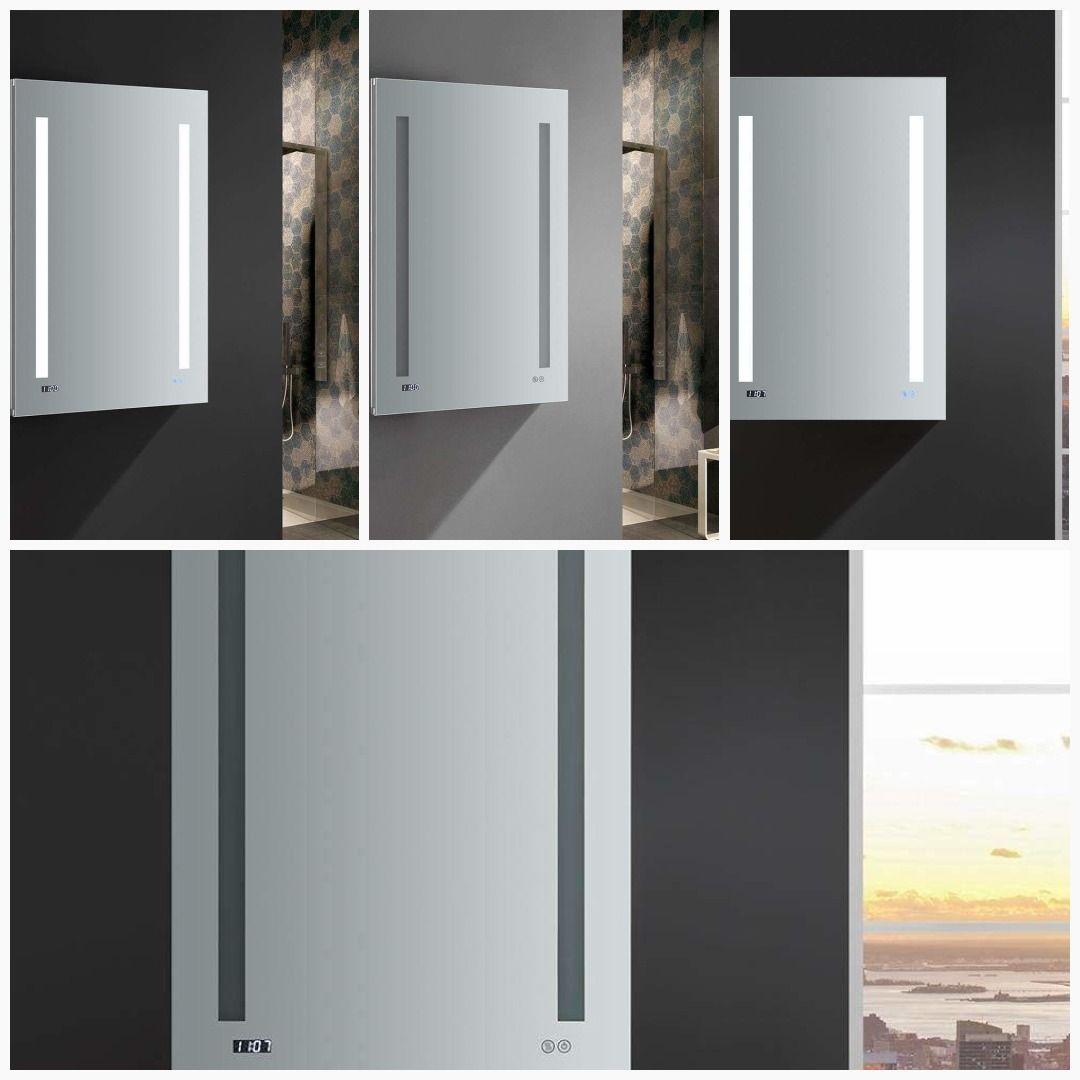 Fresca Tiempo 24 Wide X 36 Tall Bathroom Small Medicine Cabinet With Light 30 Cabinets Bat Lighted Medicine Cabinet Small Medicine Cabinet Small Bathroom