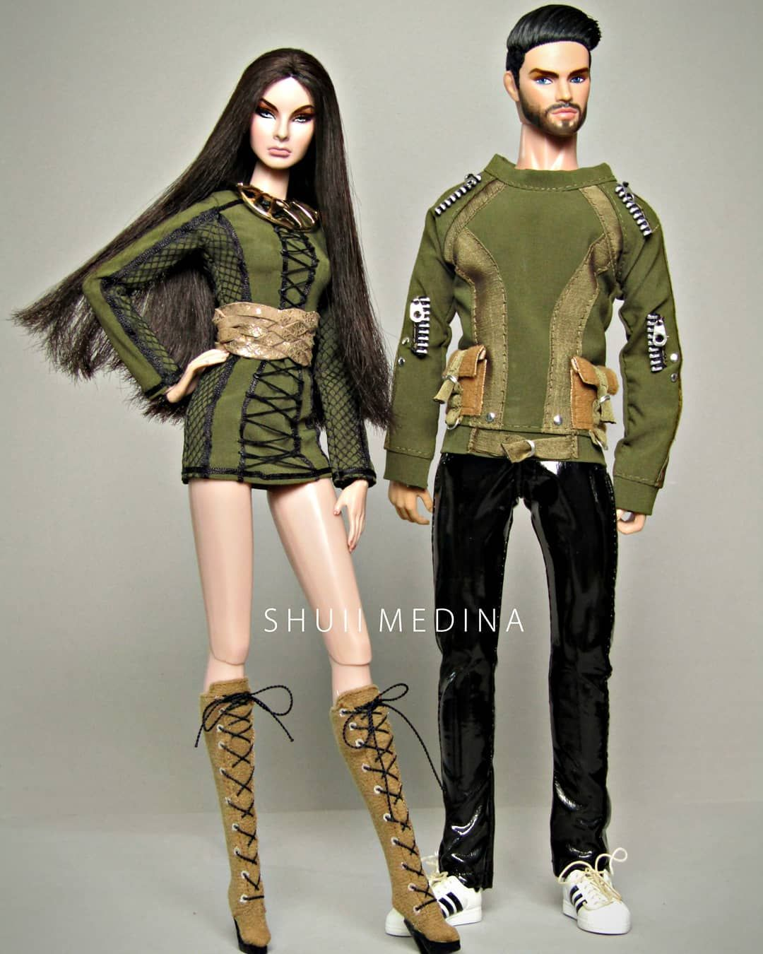 1//6 Outfit life Jackets for Fashion Royalty Integrity Male Men Doll Poppy 12/'/'