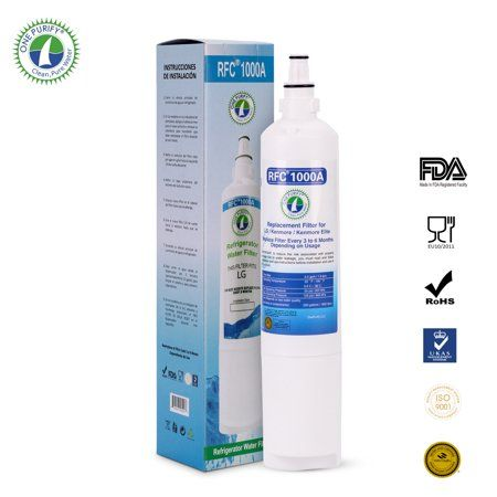 5231JA2006B Also Compatible with LG 5231JA2006A CLS30320001 and Kenmore 46-9990 Designed to Exact Fit as the Original -PURELINE 3 Pack Kenmore 9990 /& LG LT600P Water Filter Replacement