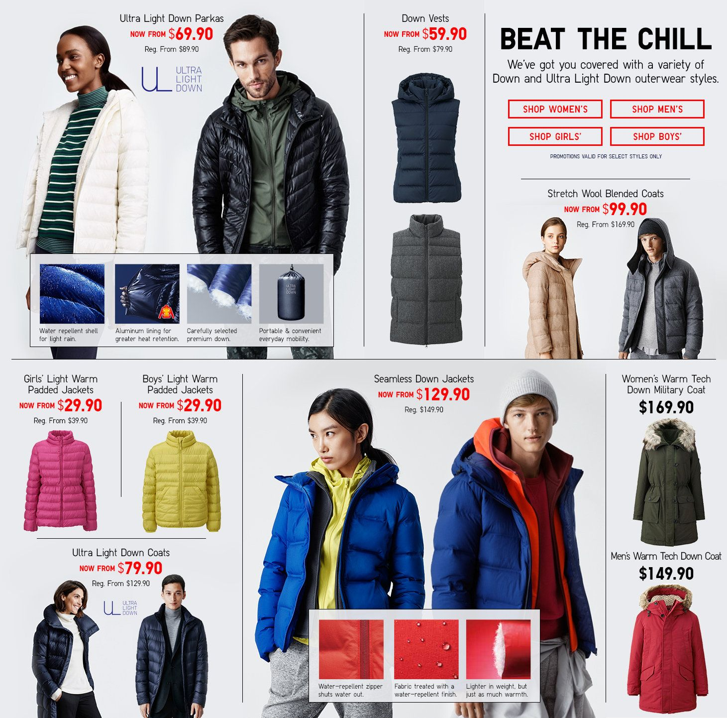 643bf60e3594 Shop UNIQLO.com for the latest essentials for women