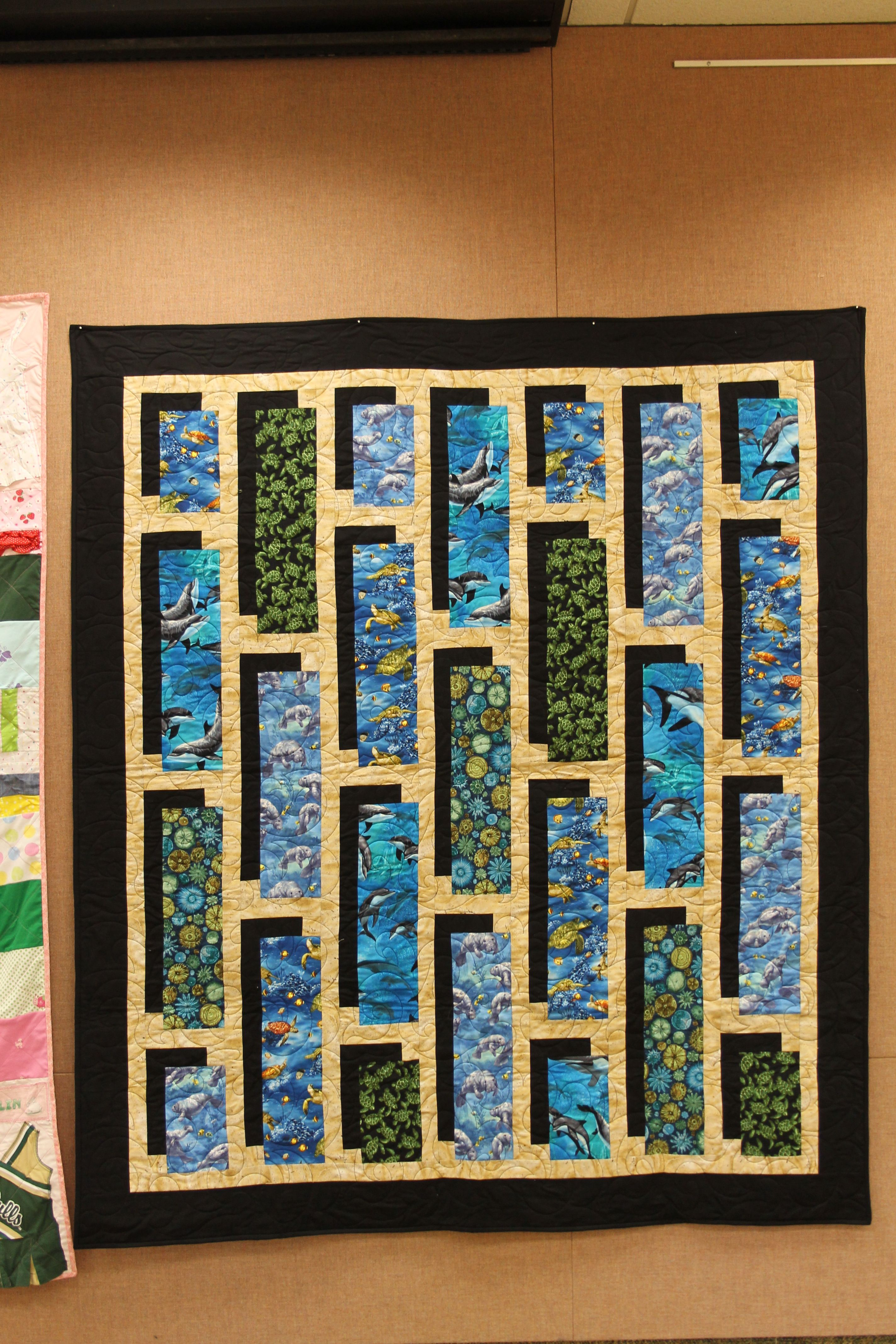 Pin By Karen Wilson On Quilting Ideas Bubble Quilt Quilt Corners Panel Quilts
