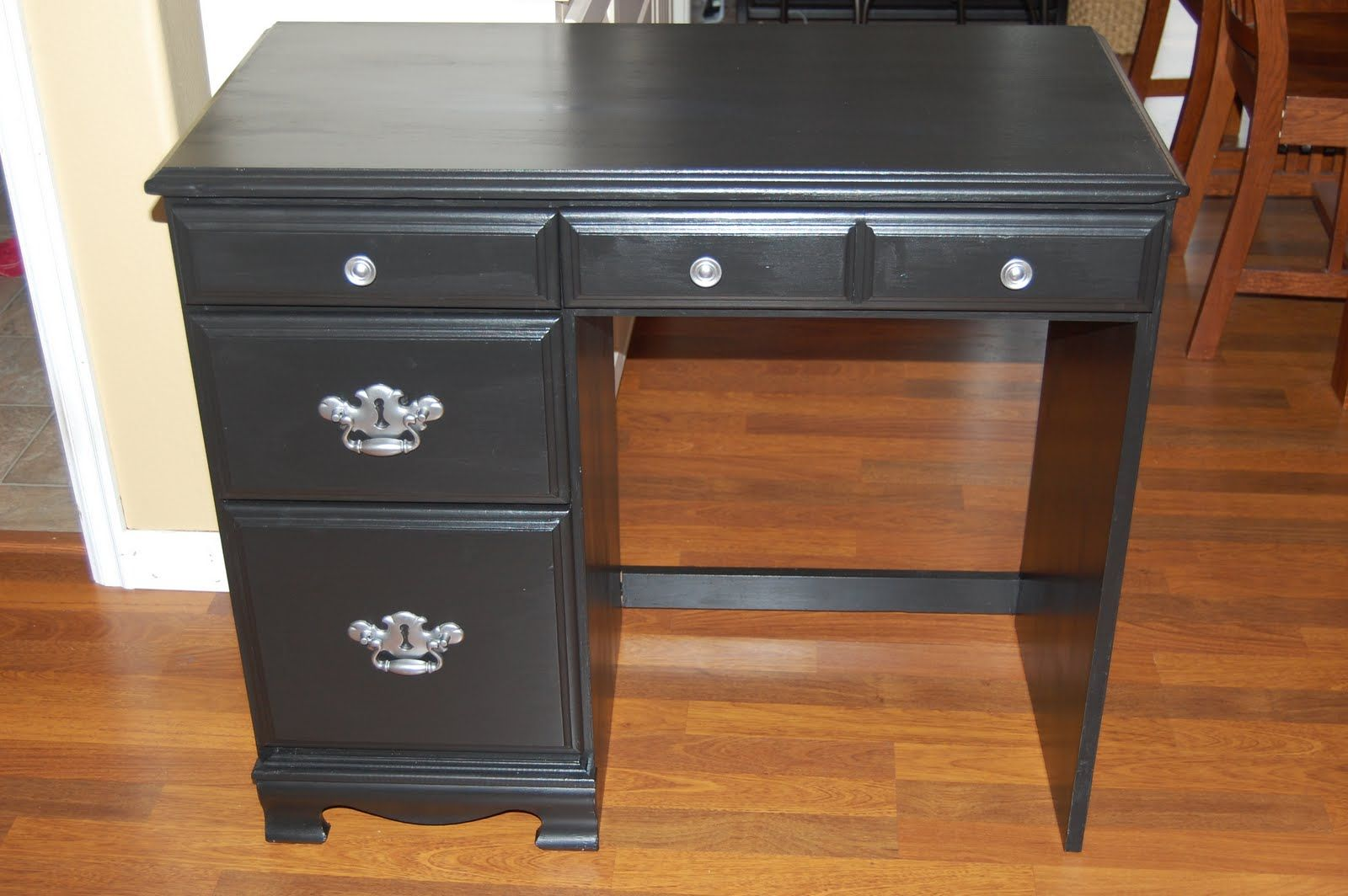 Small Wood Desk With Drawers Wall Decor Ideas For Desk Check