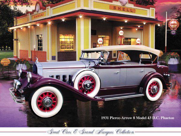 1931 Pierce Arrow 8 Model 43 Tesla Nikola Tesla Tesla Electric Car