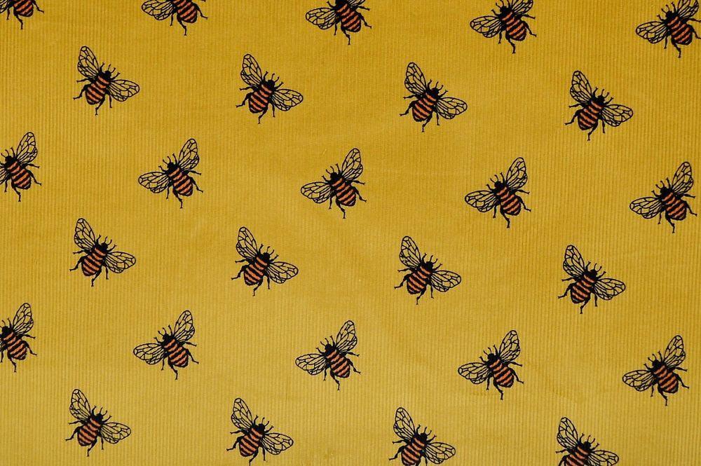 100/% Cotton Fabric Fine Corduroy Navy Plain Babycord 21 wale