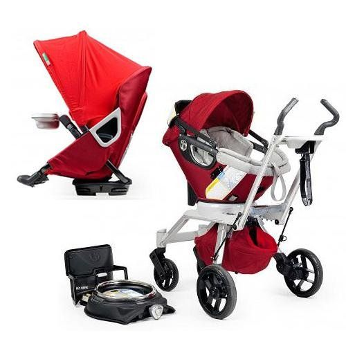 Orbit Baby Stroller Travel System G2 with Stroller Seat G2 Ruby ...