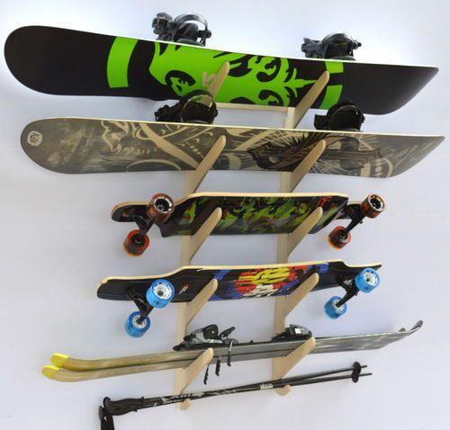 Rado Racks Baltic Ski Snowboard Storage Rack