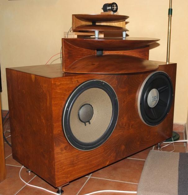 Vintage TAD Amp Fostex JBL Sub Sub Woofer JBL GTO 1514