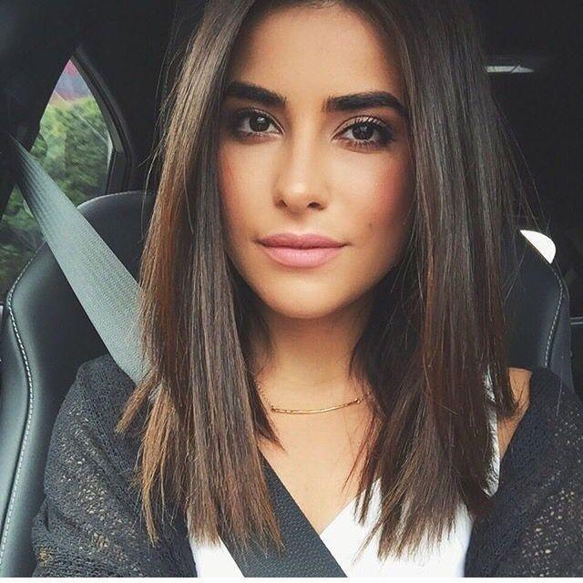 Schöne Frisuren für schulterlanges Haar - Neue Haare Modelle