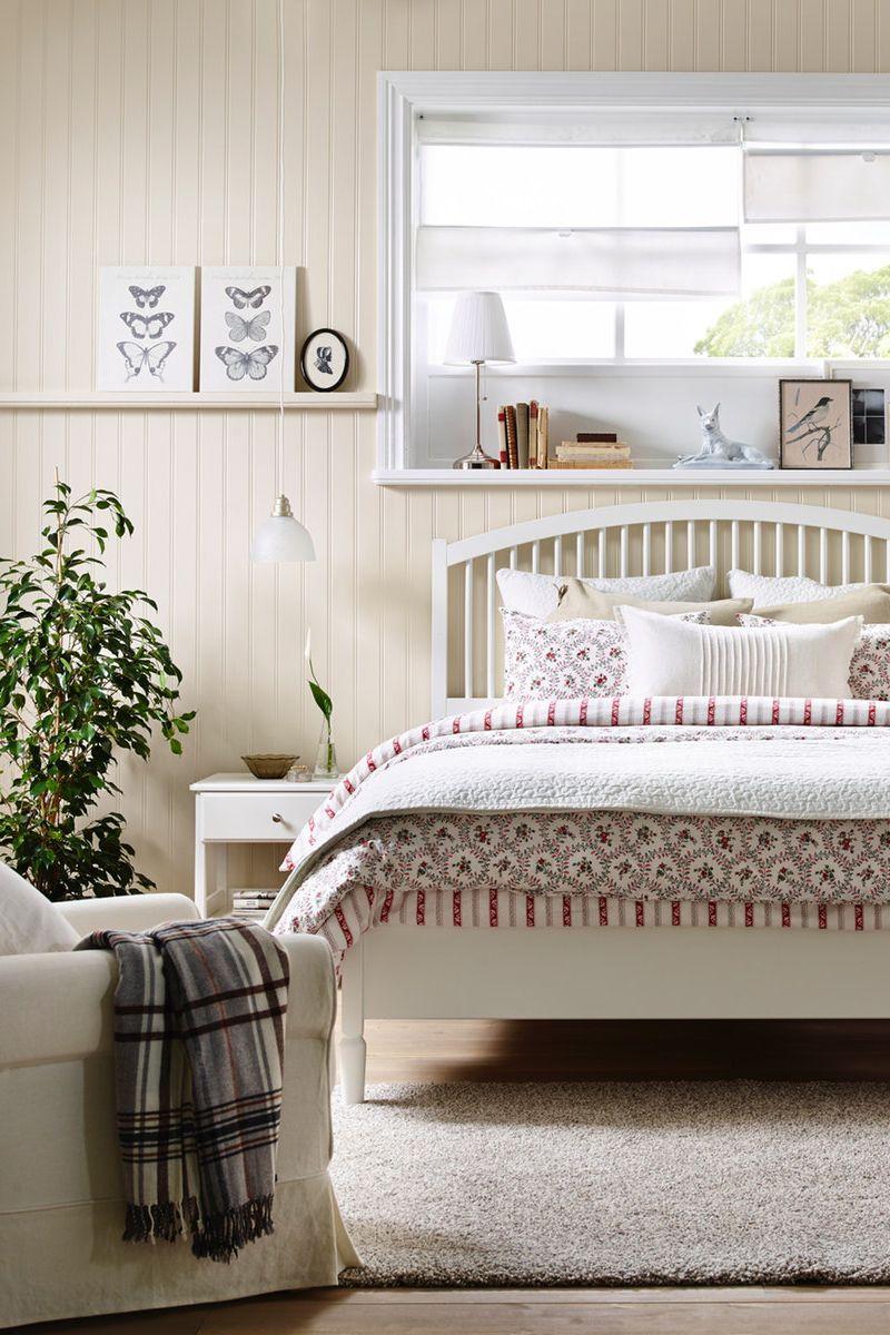 Formschones Bettgestell In Skandinavischem Stil Schlafzimmer Set