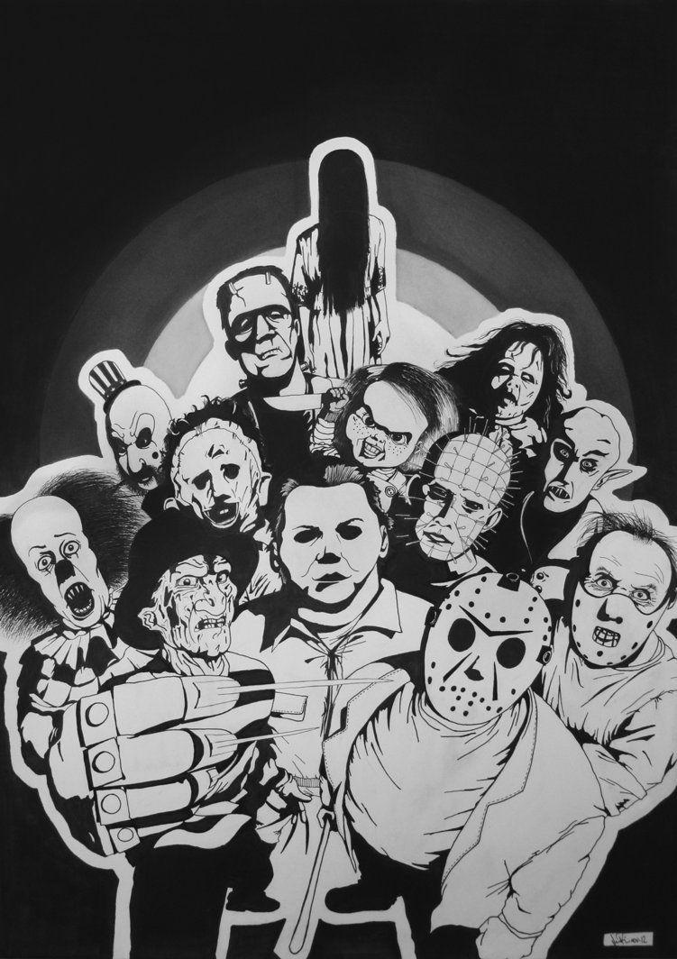 Horror Movie Characters Flimmerstubecom Free Horror Movies