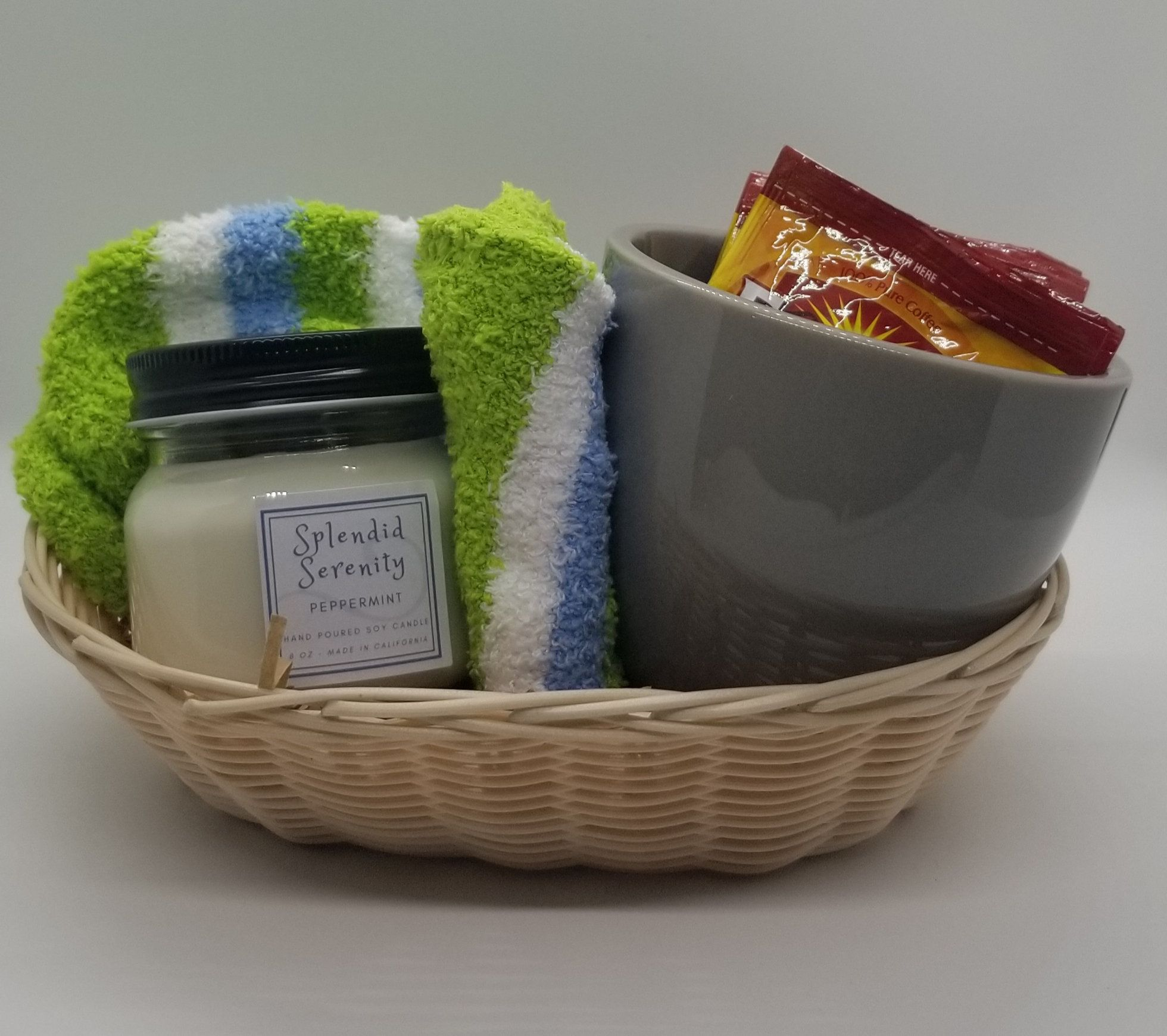 Candle gift baskets aromatherapy candle gift baskets tea