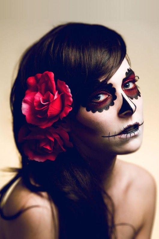 stage makeup theme kreativ schminken halloween. Black Bedroom Furniture Sets. Home Design Ideas